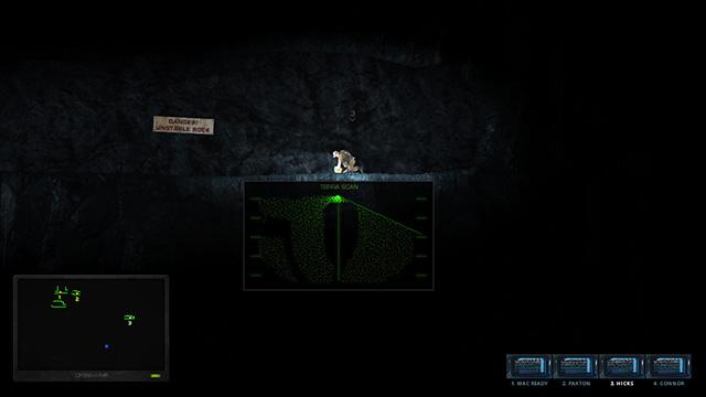 Hidden Deep terra scanning