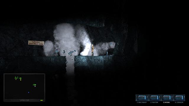 Hidden Deep blasting hole