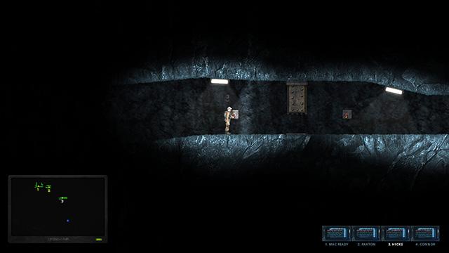 Hidden Deep gate opening
